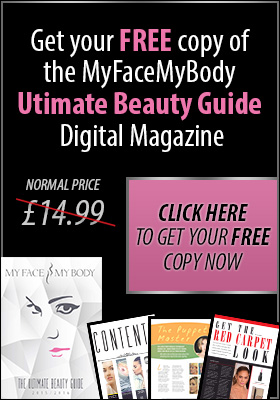 Get your free copy of the MyFaceMyBody Ultimate Beauty Guide